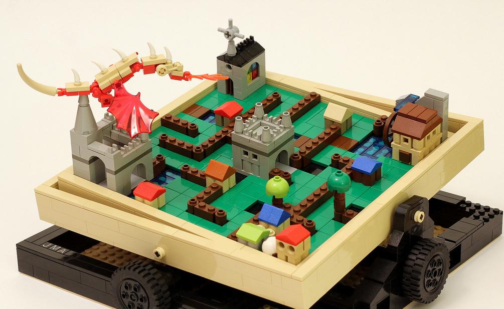Lego Ball Maze