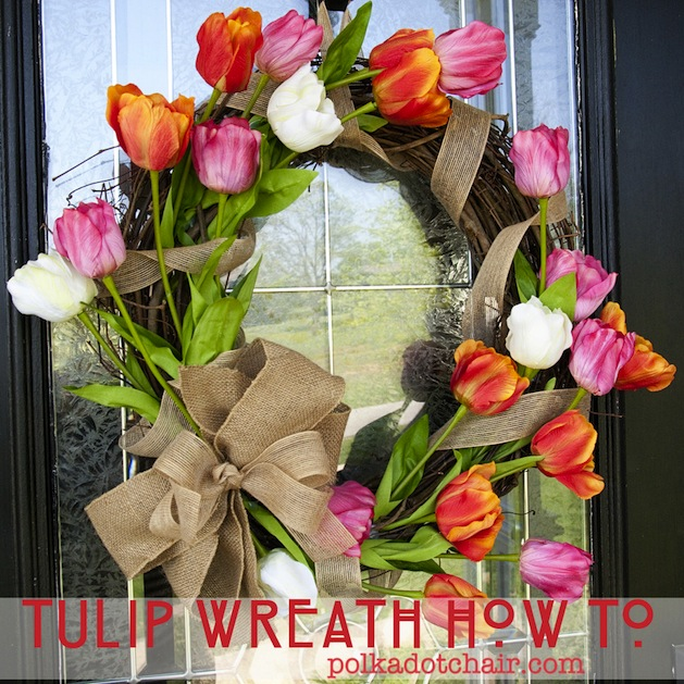 How-To: Tulip Wreath