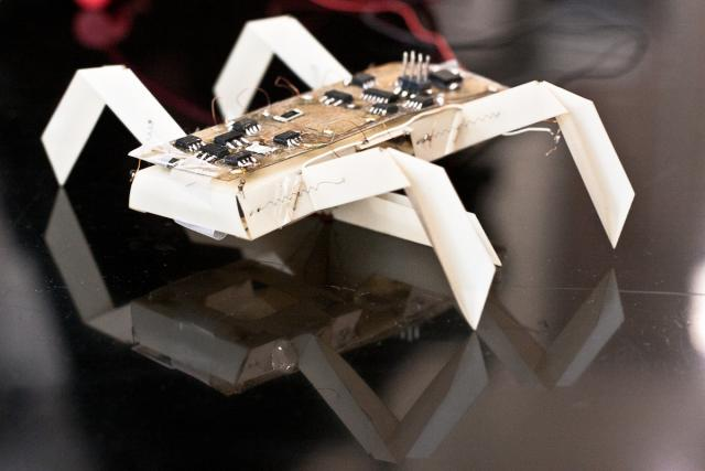 Print-and-Fold Robot Parts