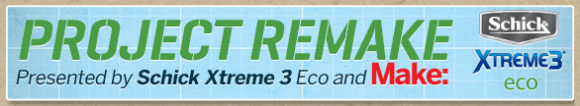 Announcing Project Remake From MAKE and Schick