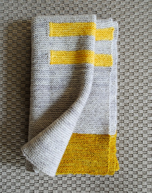 How-To: Four Corners Baby Blanket
