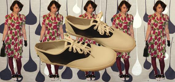 DIY Saddle Shoes