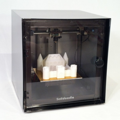 9 Fully Assembled Solidoodle 3D Printer