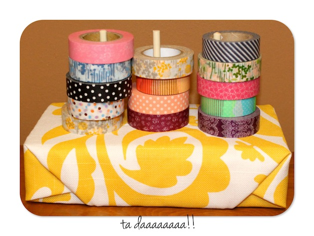 How-To: Washi Tape Holder