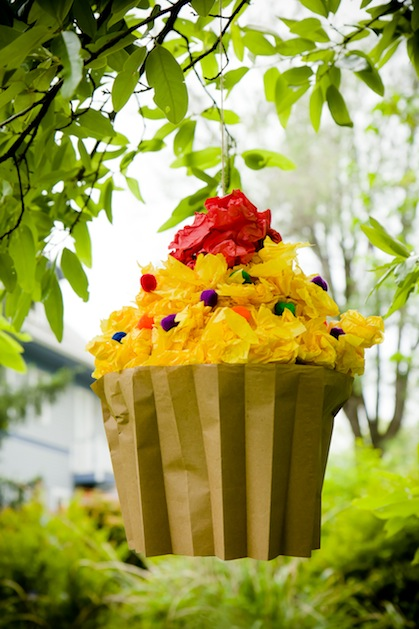 How-To: Cupcake-Filled Cupcake Pinata