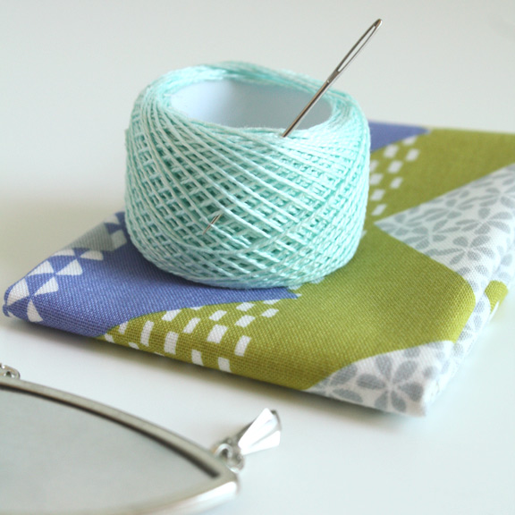 How-To: Fabric Pendant
