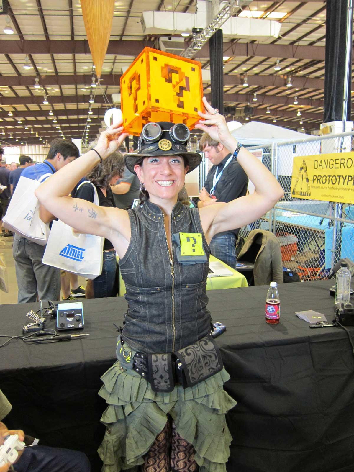 Cool Clothes and Styles of Maker Faire Attendees