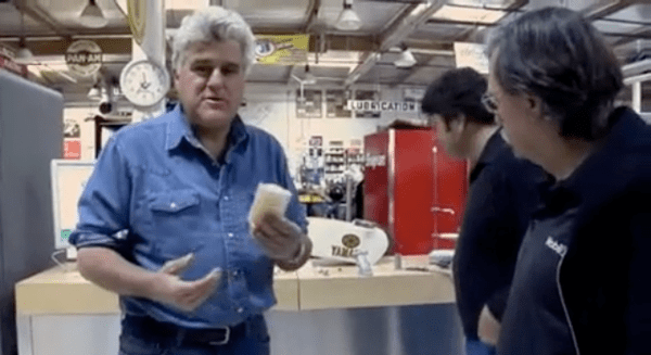 Jay Leno Scans and Prints Replacement Car Parts