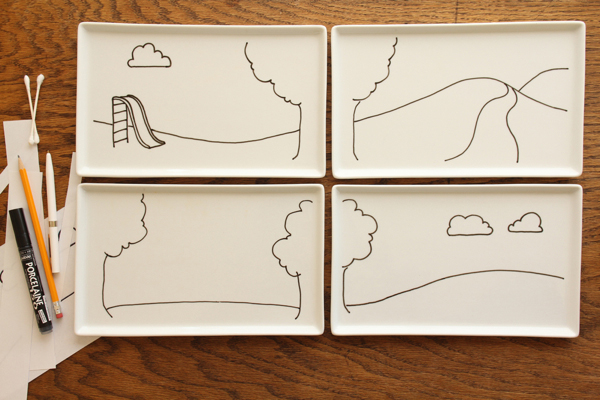 How-To: Kid Plates For Playing With Your Food