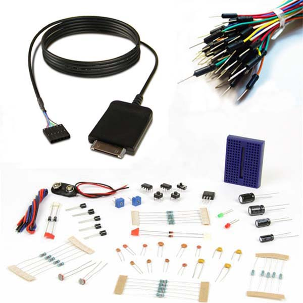 New in the Maker Shed: RedPark TTL iOS Cable Breakout Pack