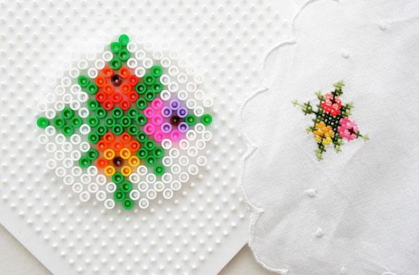 Perler Bead Pixel Coasters