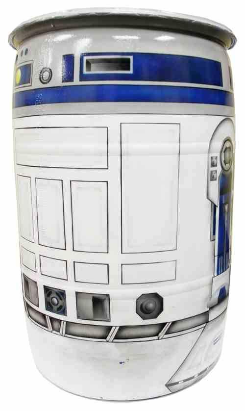 R2-D2 Rain Barrel