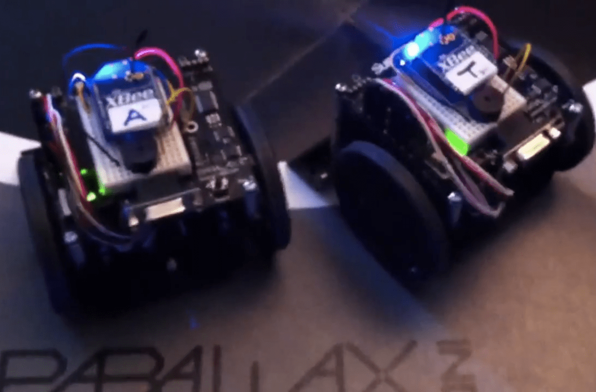 XBee-enabled SumoBots Appearing at Maker Faire