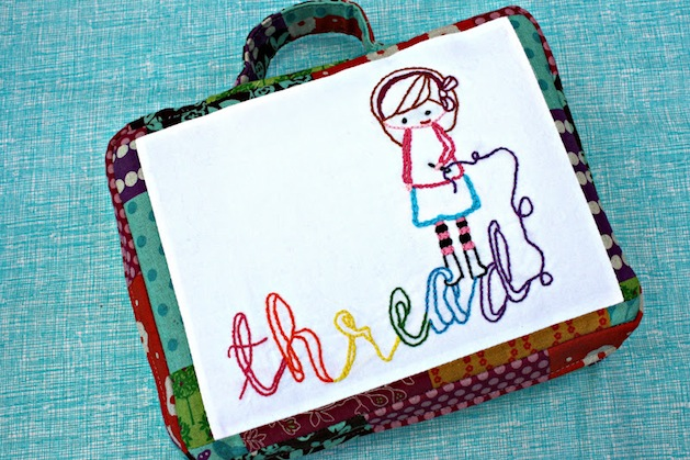How-To: Embroidery Travel Bag