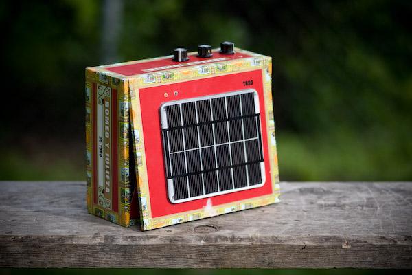 Solar Powered Cigar Box Amp