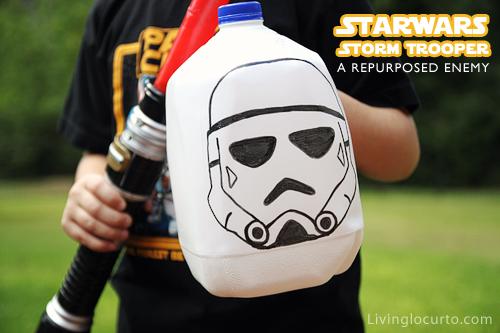 Milk Jug Storm Trooper