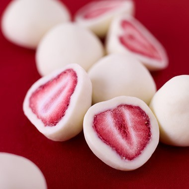 Dipped Strawberry Snack
