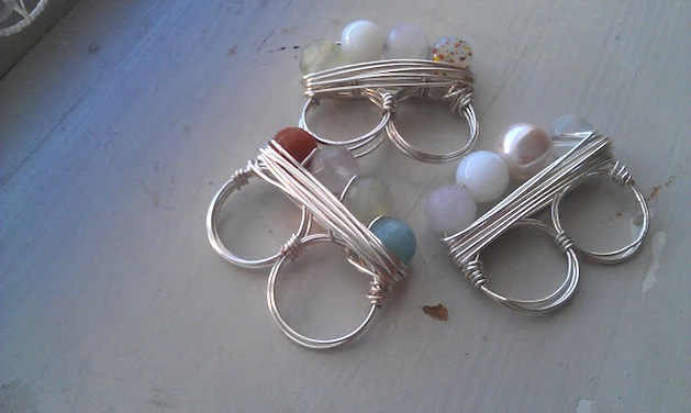 How-To: Beaded Two Finger Ring
