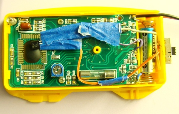 Add a Thermometer to Your Multimeter