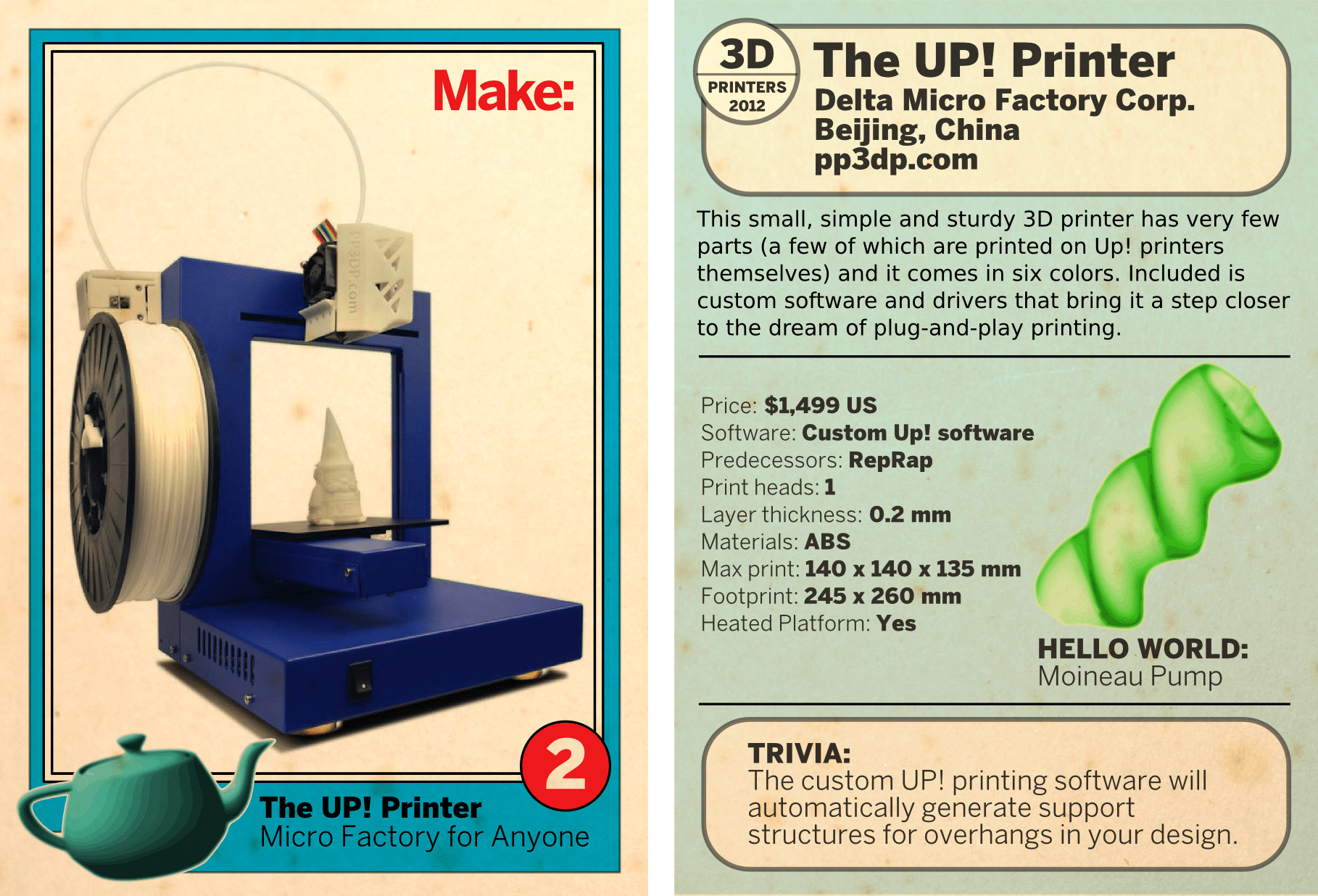 The Up! Printer
