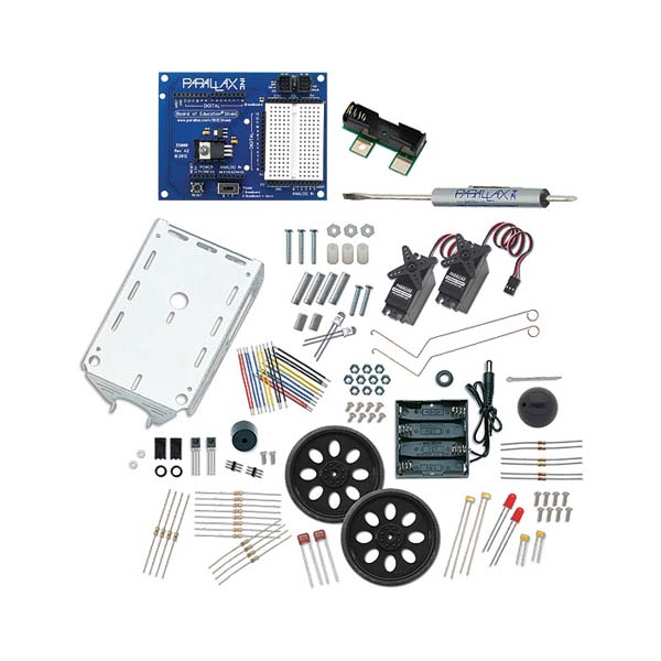 New in the Maker Shed: Arduino Robot Shield Kit