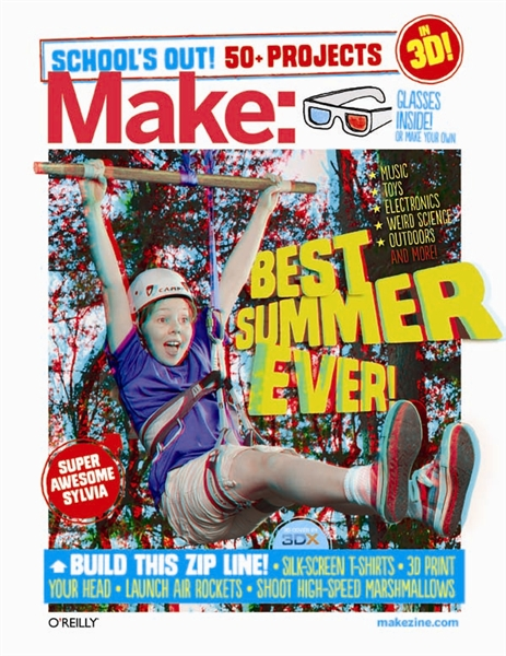 One Day Only: Make: School's Out! Summer Fun Guide Print + PDF Bundle for !