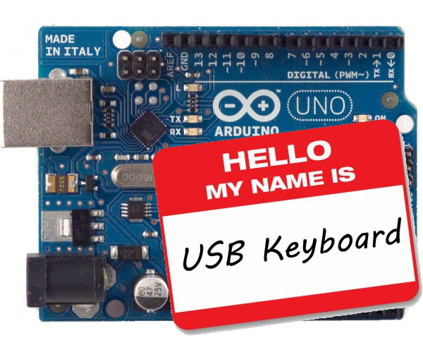 USB Keyboard Support with the Arduino Uno