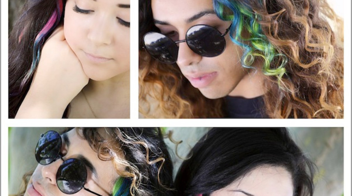 How To Tie Dye Hair Extensions Make