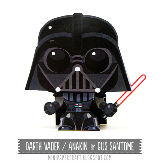 Free Darth Vader Paper Craft