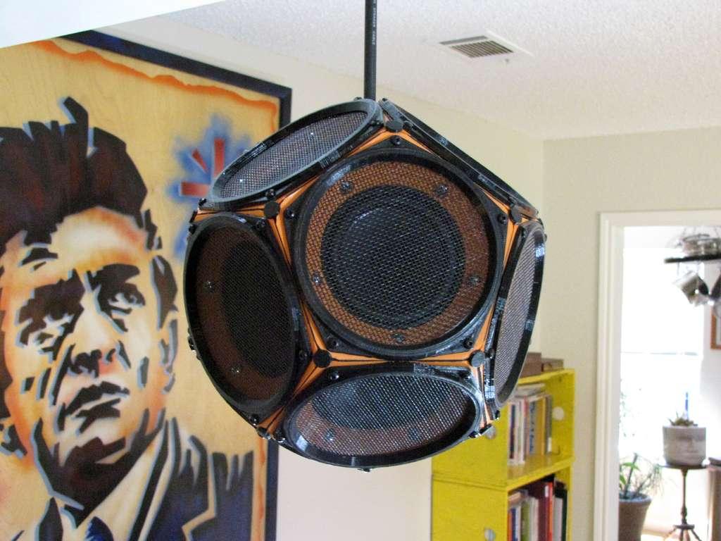 Dodecahedron Speaker Delivers Almost Spherical Sound  Make