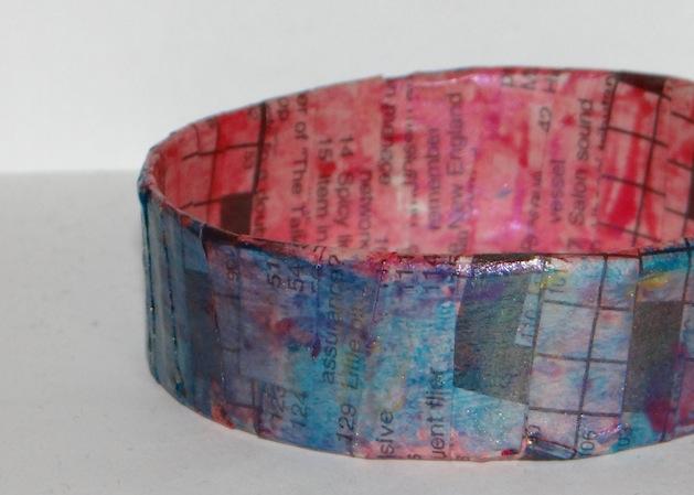 How-To: Paper Bangle Bracelet