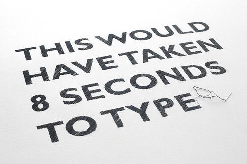 Handcraft Meets Graphic Design Fonts