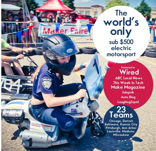 Power Racing Series at Maker Faire KC
