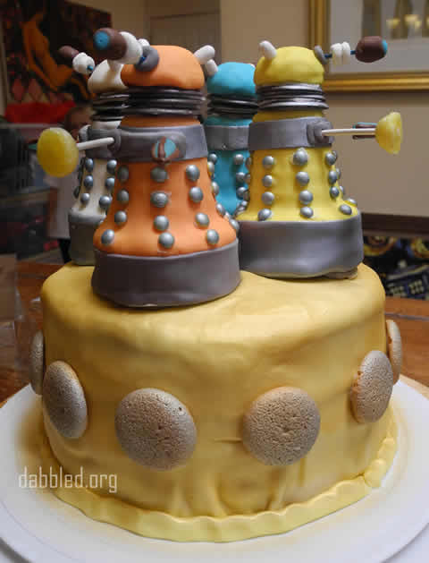 How-To: Dalek Doctor Who Cake