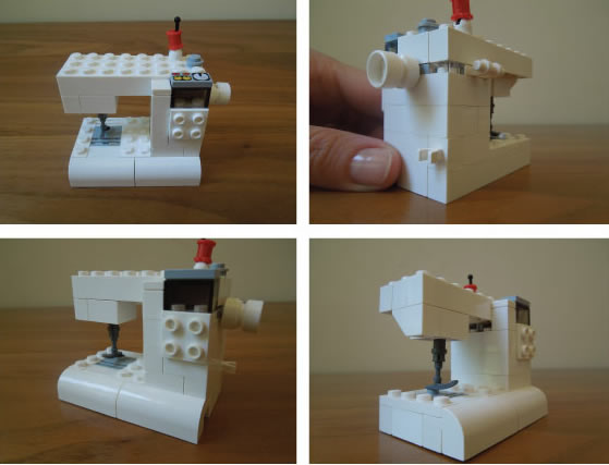 How-To: Lego Sewing Machine