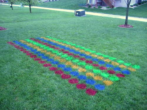 How-To: Giant Outdoor Twister Game