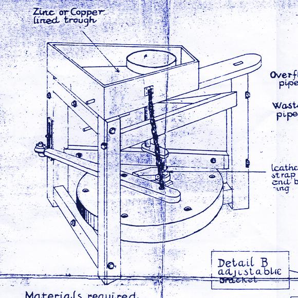 The Leach Treadle Wheel