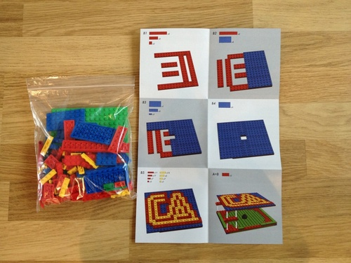 Band Releases LEGO CD Case