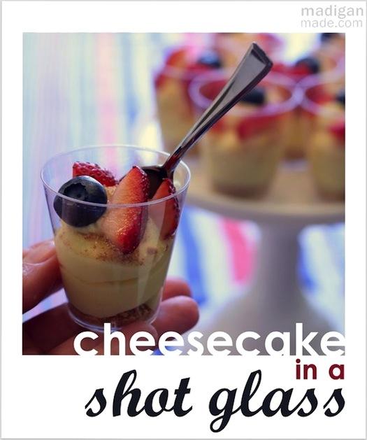 Recipe: No-Bake Cheesecake Shots