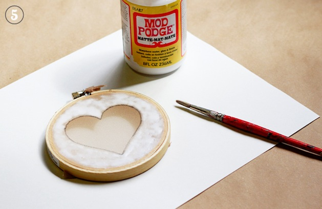 How-To: Mod Podge Screen Printing