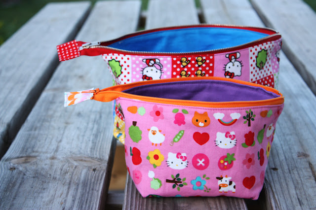Zippered Pouch Tutorial