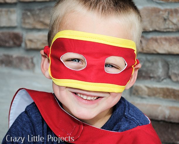 How-To: Super Hero Mask