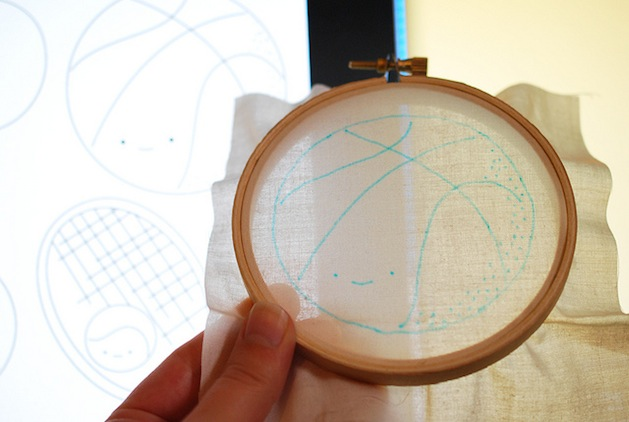 How-To: Computer Screen Embroidery Light Box