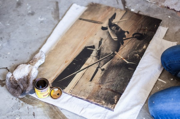 How-To: Transfer Prints To Wood
