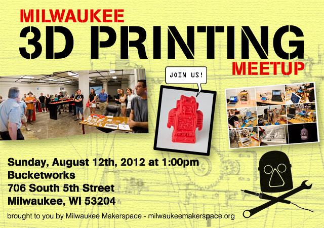 Milwaukee 3D Printer Meetup