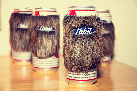 Bearded Beer Cozy