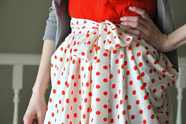 How-To: Gathered Drape Skirt with Pockets