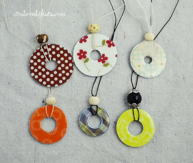 How-To: Washer Necklace