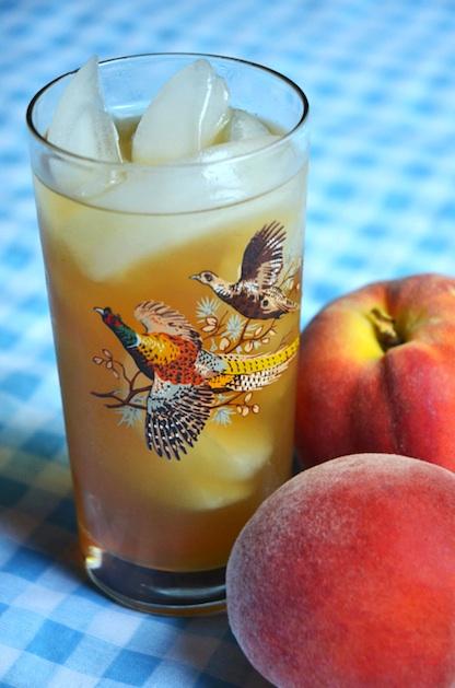 Recipe: Peach Sweet Tea