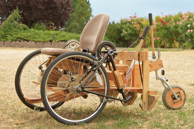 Wheelchairs From Old Bike Parts
